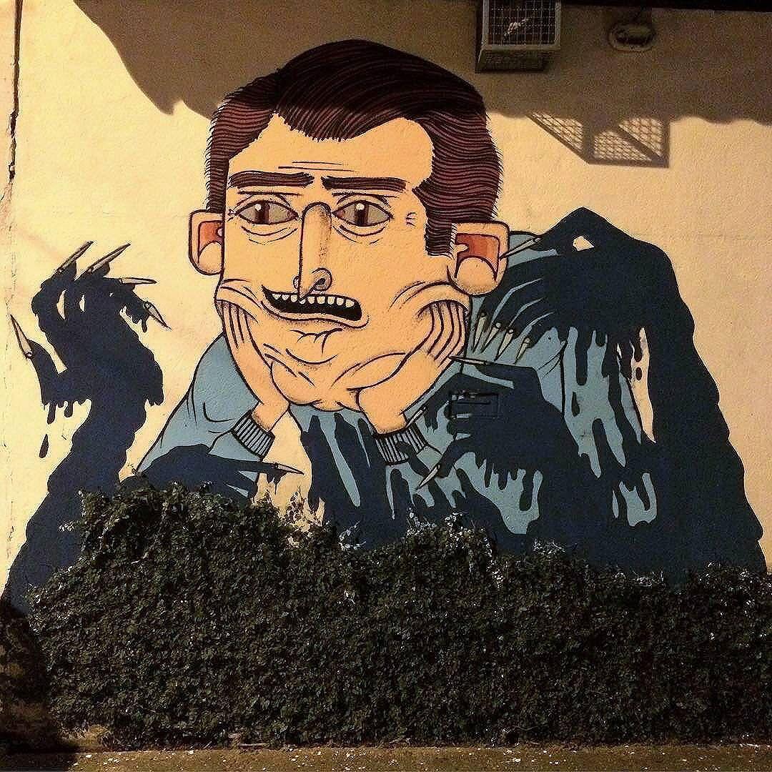 @fetosz in Sao Paulo. #fetosz #saopaulograffiti #graffitisp #graffitisaopaulo #streetartsp #streetartbrazil #streetartbrasil #streetartbr #brazilstreetart #graffitibrasil #brasilgraffiti #brazilgraffiti #igersbrazil #ig_brazil #graffitibrazil #streetart #urbanart #graffiti #wallart #graffitiart #wallpainting #muralpainting #artederua #arteurbana #muralart #streetart_daily #streetarteverywhere