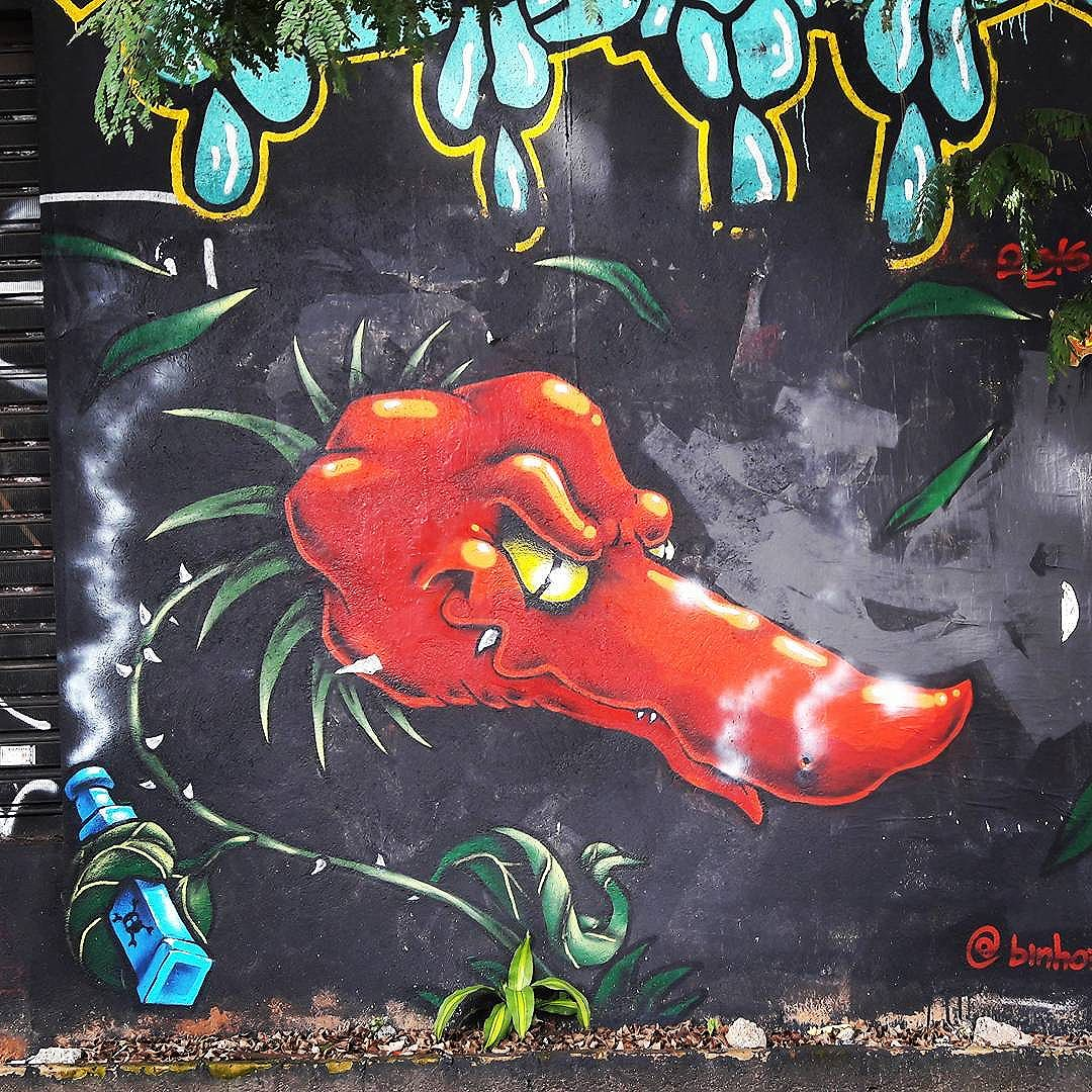 Angry Piment  Artist: @binho3m  #binho #piment #sambadograffiti #sampagraffiti #graffiti #graffiti_clicks #grafite #graf #streetart #streetartsp #streetphoto #streetarteverywhere #streetartphotography #spray #bagarre #spraypaint #urbanwall #urbanart #wallart #saopaulo #brasil #rsa_graffiti #braznu #sampa #tv_streetart #saopaulocity #tv_sa_simplicity_graff #streetartofficial