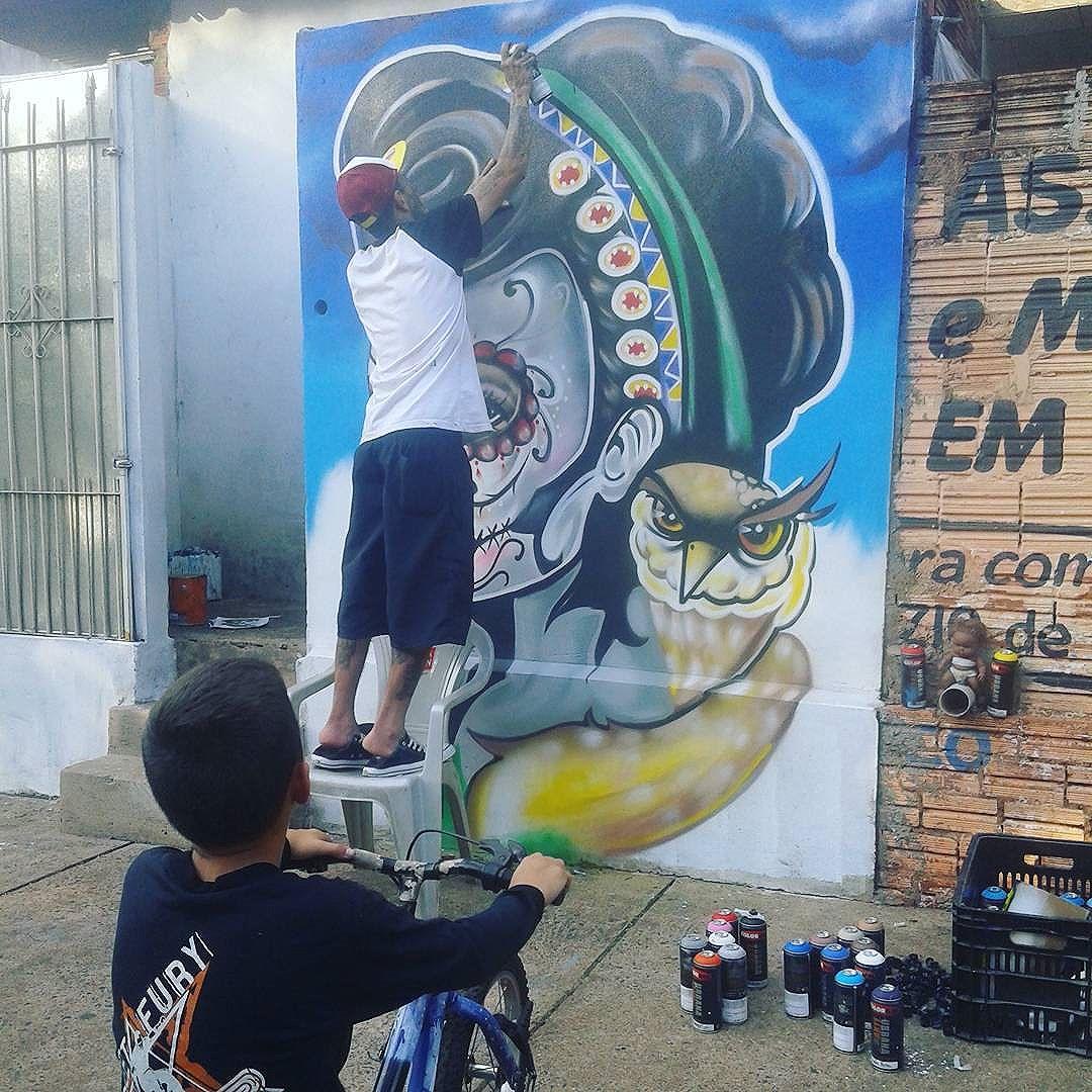 Arte na Serra #streetart #graffiti #streetartsp #saopaulo #graffiti #streetart #instagrafite #streetart #bike #kids #artesaopaulo