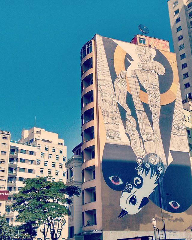 #medianeras paulistanas #streetart #muralismo #arteurbana #lascalleshablan #streetartsp #urbanart #existeamoremsp