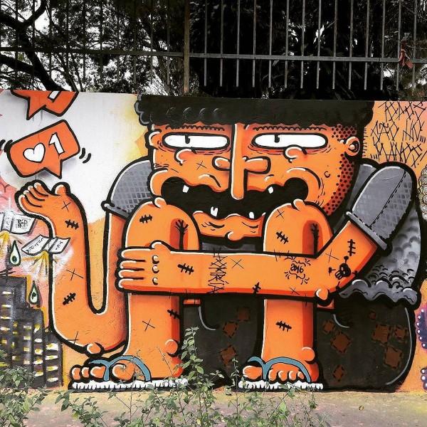 Compartilhado por: @samba.do.graffiti em Jul 21, 2016 @ 10:30
