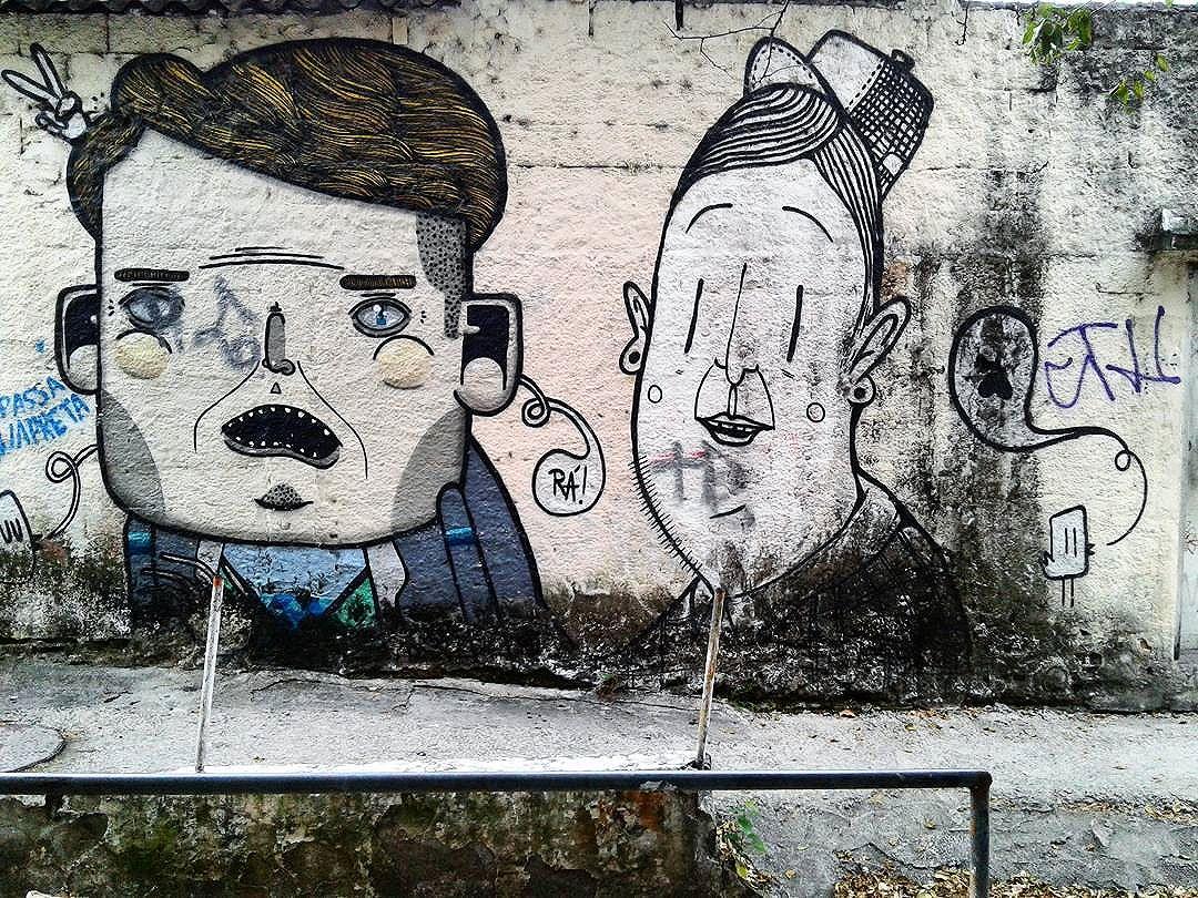 2 . . Art by Alex Senna @alexsenna and ? (forgot the name...) . #streetart #graffiti #graffitiart #urbanart #artecallejero #sprayart #urbanwalls #graffitibrazil #streetartbrazil #streetartsp #grafite #grafitesp #instagraff #graffitiporn #graff #graffiti_of_our_world #urbanexploration #instastreet #ig_saopaulo #saopaulocity #spray #streetarteverywhere #instagraffiti #graffitiart #sp011 #saopaulo