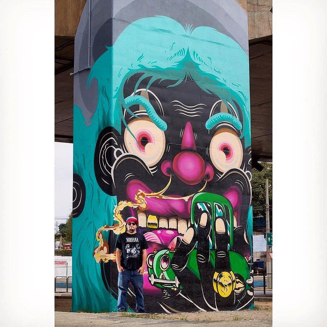 @dedonesthnl in Sao Paulo. Photo by @usdalestemaker. #dedonesthnl #dedo #saopaulograffiti #graffitisp #graffitisaopaulo #streetartsp #streetartbrazil #streetartbrasil #streetartbr #brazilstreetart #graffitibrasil #brasilgraffiti #brazilgraffiti #igersbrazil #ig_brazil #graffitibrazil #streetart #urbanart #graffiti #wallart #graffitiart #wallpainting #muralpainting #artederua #arteurbana #muralart