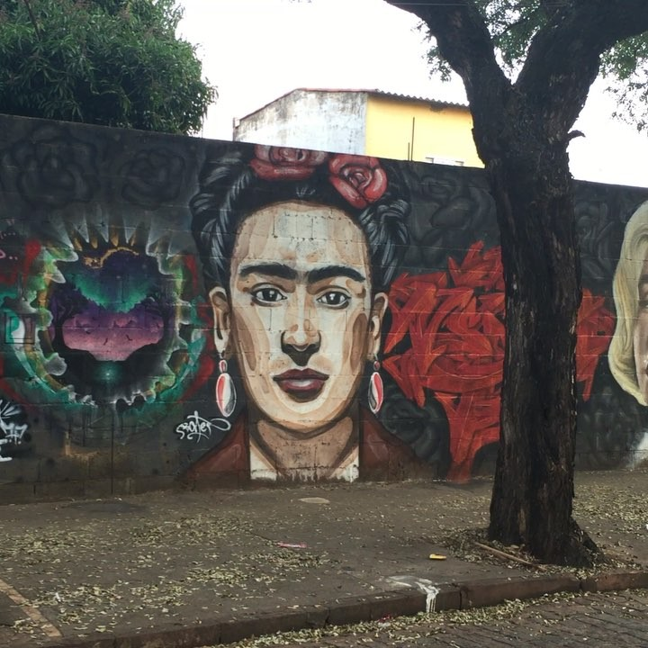 @weio e #2Glue visitam Murilo Bonet e Frida Kahlo! @bonetbonet e #fridakahlo #pedestrian #artederua #paredesurbanas #urbanart #urbex #urbanartist #streetartsp #contemporaryart #weio #minhapretateresa #artecontemporânea #contemporary #contemporaryart #art #stickart #stickers #stick #adesivo #instagram #instamood #instalike #instapic #instastreet #graffiti #araraquara #ocupearua #ocupeacidade