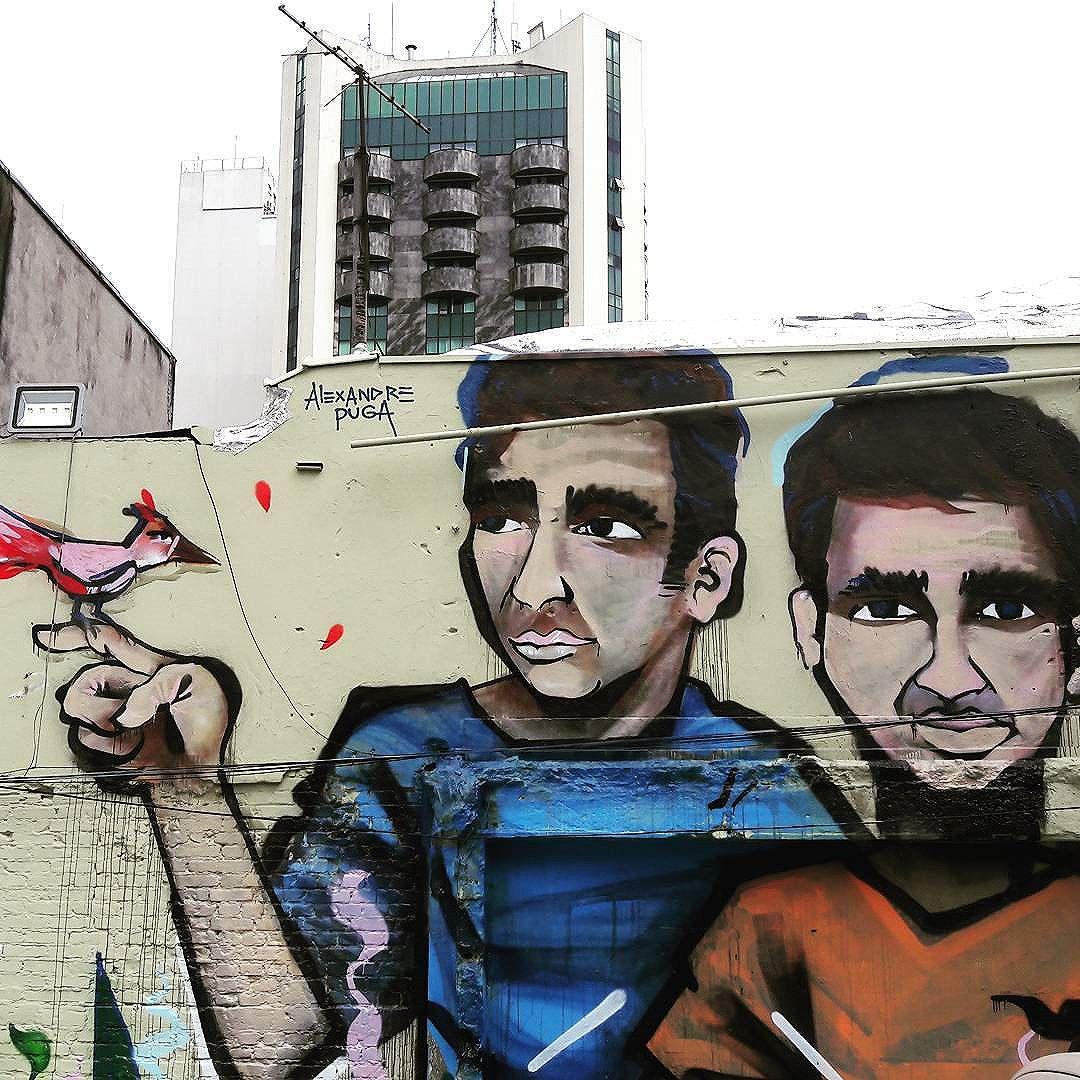 Big wall art in Jardins (São Paulo) Artist: @AlexandrePuga #alexandrepuga #sambadograffiti #sampagraffiti #graffiti #graffiti_clicks #grafite #graf #streetart #streetartsp #streetphoto #streetarteverywhere #streetartphotography #spray #bagarre #spraypaint #urbanwall #urbanart #wallart #saopaulo #brasil #rsa_graffiti #bikini #braznu #sampa #tv_streetart #saopaulocity #tv_sa_simplicity_graff #streetartofficial
