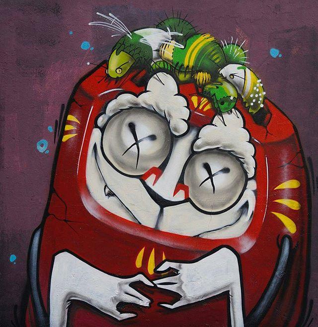 """BinhoNickFeik!!!"" Artist: @feik_frasao São Paulo, Brasil #streetart #mural #graffiti #urbanart #sprayart #graffitiart #spraypaint #spraycanart #publicart #wallart #wallporn #urbanwalls #arteurbano #streetartist #streetarteverywhere #graffitiporn #graffitiwall #graffitiigers #wallpainting #muralpainting #muralart #graffiticulture #graffitiartist #streetart_daily #feik #saopaulo #brasil #brazil #streetartsp"