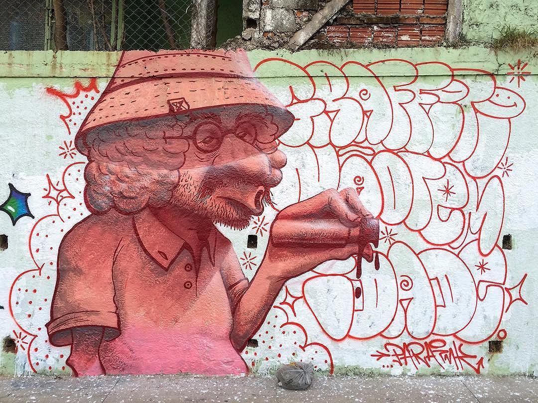 Graffiti não tem idade. • Graffiti has no age. Valeu @gregbrisa e @allzaymer pelo role! #streetartsp #sampagraffiti #graffitisp #saopaulo #urbanart #paraink #paintingwalls