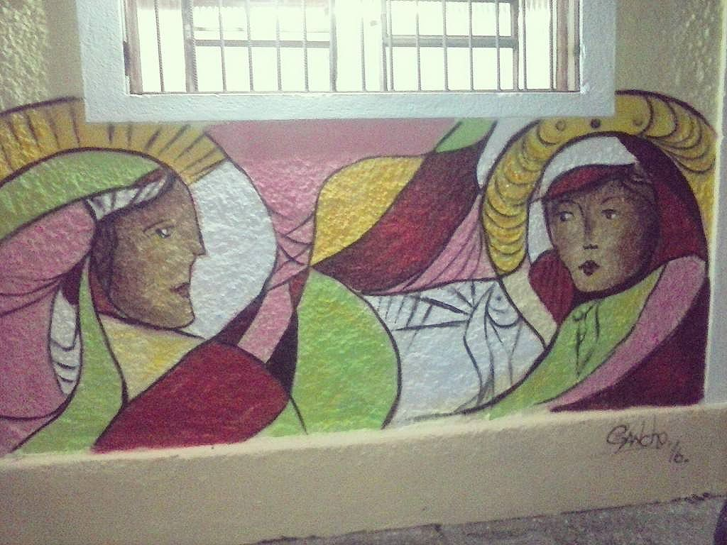 Mais um de ontem :3 Na casa das muleres em Guarulhos #art #arteurbana #Sprayart #spray #graffitiart #graffiti #streetartsp #streetart #lugancho #ganchoart