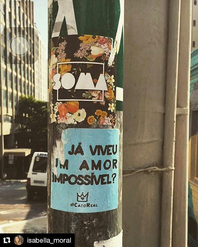 soma  #CasoReal #EscuteLítera #artederua #streetart #arte #urbanart #arteurbana #art #sp #brasil #rua #street #saopaulo #brazil #sampa #streetarteverywhere #urban #colors #asruasfalam #splovers #sãopaulo #streetartsp #bomdia #Repost @isabella_moral ・・・ Enquanto isso, na selva de pedra..  #snapsave #CasoReal @rodrigok_