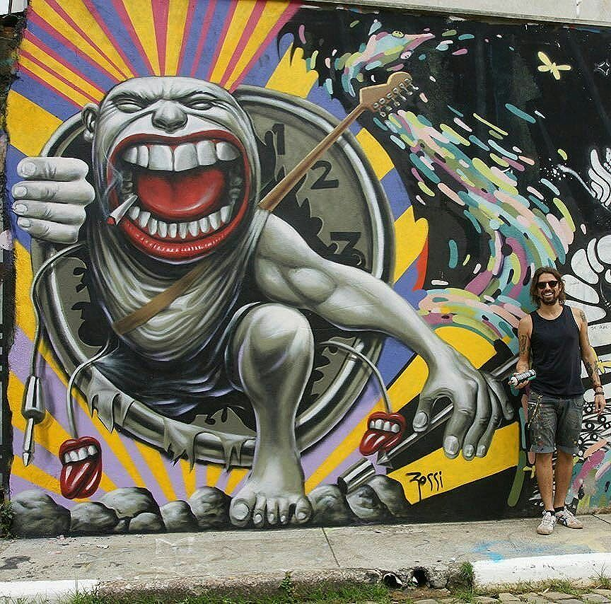 #therollingstones by @flaviorossiarte in Sao Paulo. #flaviorossiarte #flaviorossi #saopaulograffiti #graffitisp #graffitisaopaulo #streetartsp #streetartbrazil #streetartbrasil #streetartbr #brazilstreetart #graffitibrasil #brasilgraffiti #brazilgraffiti #igersbrazil #ig_brazil #graffitibrazil #streetart #urbanart #graffiti #wallart #graffitiart #wallpainting #muralpainting #artederua #arteurbana #muralart #streetart_daily #streetarteverywhere