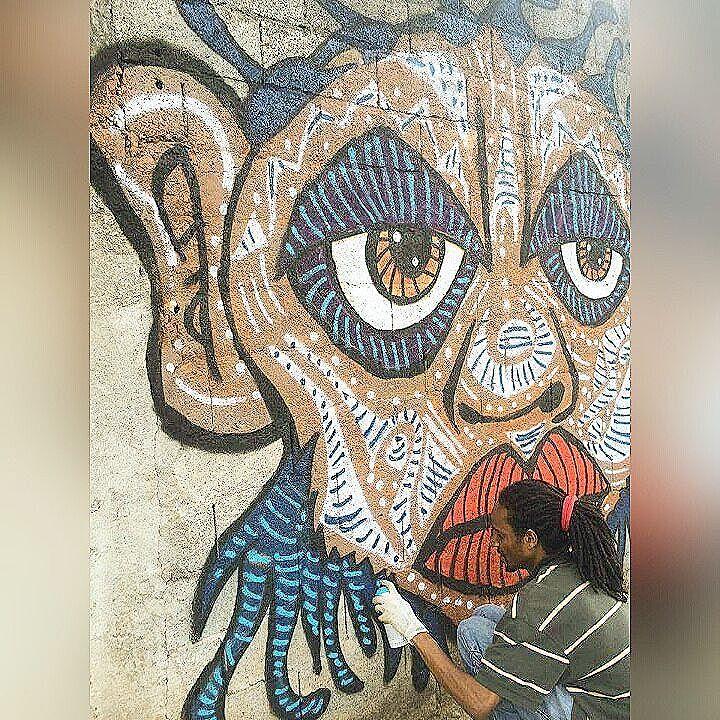 #trowback : Pintando a 2 anos atrás na Cidade AE Carvalho/Itaquera, São Paulo-SP. 2014* : @khadijaalves #dpraz #dpraznãopara #danyahupraz #dancoliveira #danielpraz #intervencaourbana #arteurbana #artederua #sprayarte #colorginarteurbana #noucolors #artesvisuais #urbanart #streetart # #sprayart #visualarts #instapainting #instastreetart #streetartbrazil #streetartsp #streetartworldwide