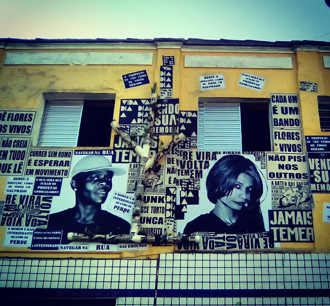 #VidasEmObra #casadalapa #paulestinos #coletivotransverso #roçaderua #cidadaniarodante #casarodante #taescritoemsampa #urbanart #streetart #streetartsp #lambelambe