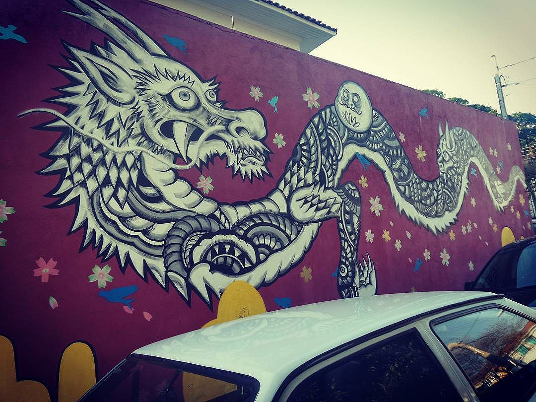 #atsuonakagawa #dragaochines #streetphotography #streetphotographers #ofantasticomundodografite #urbanwalls #streetart #arteurbanasp #streetartsp #streetarteverywhere #streetstyle #streetartsp #graffitisp #sampagraffiti #vilamadalena #saopaulo #sprayart #aerosolart #be_one_urbanart #graffiti_of_our_world #street_art_community #graffitigram #graffitiartist