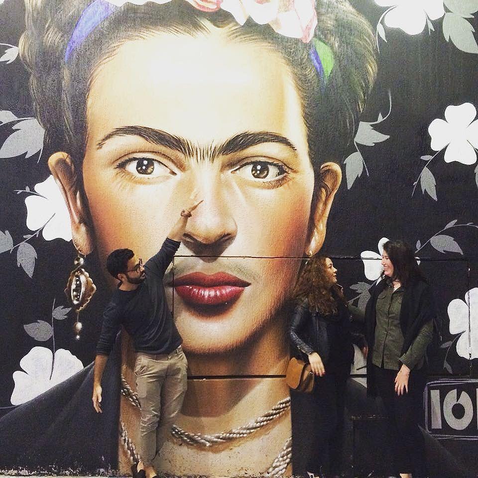 Dia de Folga com @marcianathomas @manu_jcunha #streetart #streetartsp #saopaulo