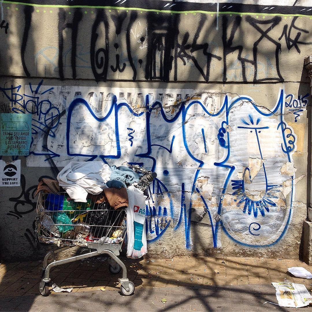 Full shopping cart + @trapo1 #pinheiros #sampa #graffiti #streetartsp #artederua #ruanews #wallart #trashngraff #vandalism #tv_streetart #dsb #streetarteverywhere #streetartsp #sampagraffiti #jacktwo #streetphotography