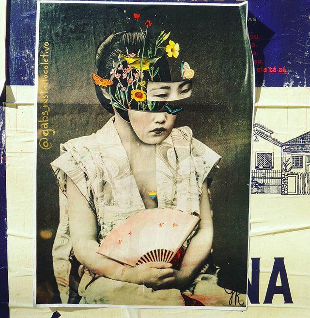 #gabrielmonteiro #instintocoletivo #gueixa #japao #lambelambe #lambelambesp #umlambepordia #streetartsp #streetarteverywhere #streetstyle #streetphotography #streetphotographers #ofantasticomundodografite #saopaulo #vilamadalena #sampa #nipon #arteurbana #intervencaourbana