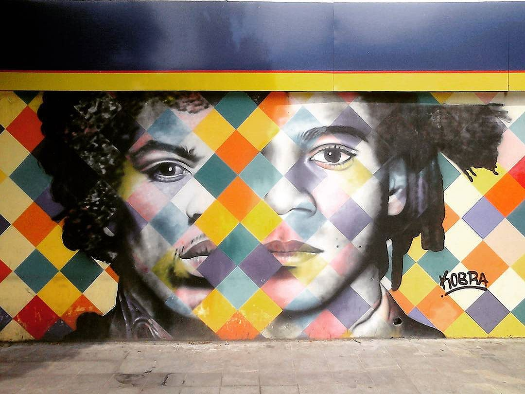 Gênios #streetartsp #basquiat #jimmyhendrix #kobra