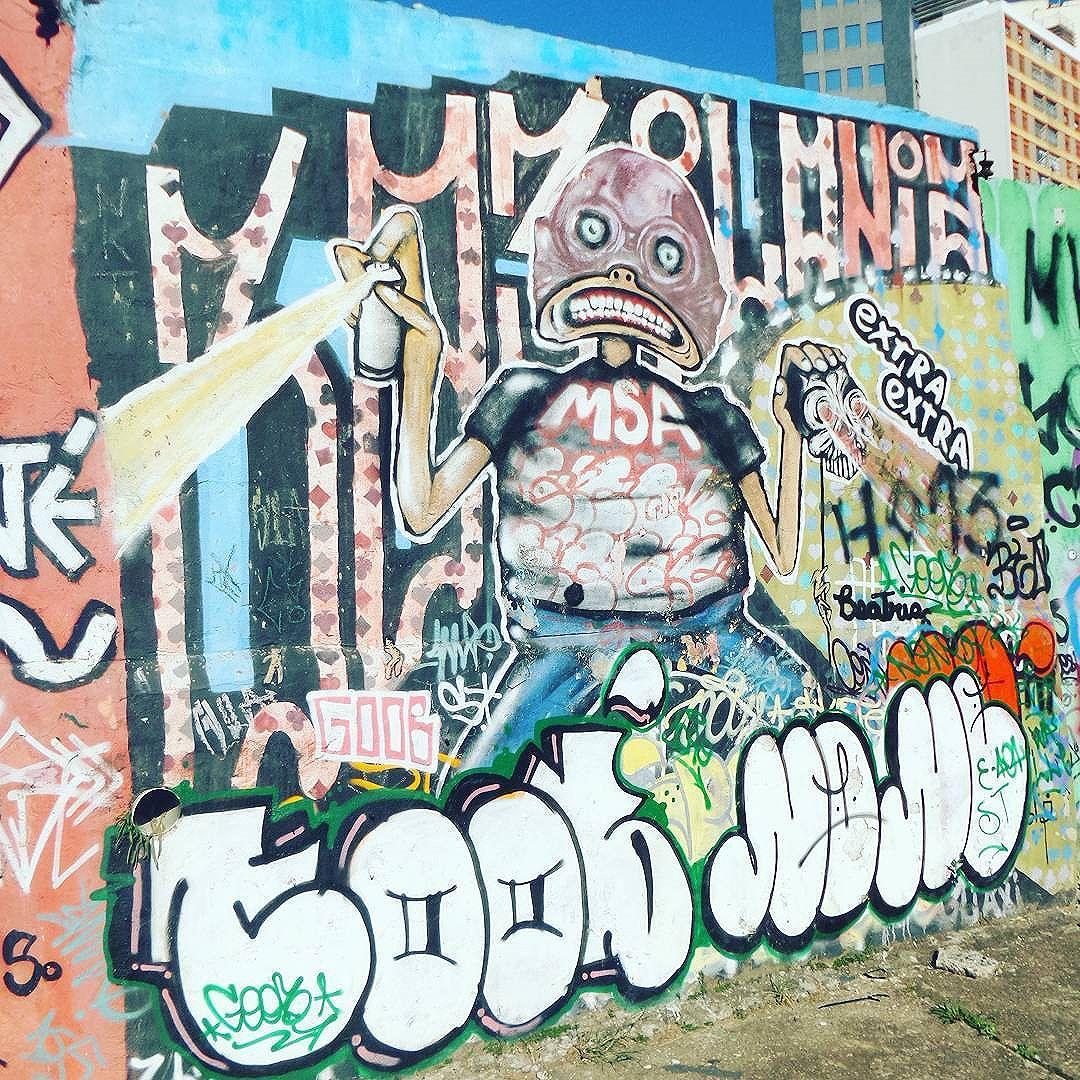 #graffiti #graffitiart #graffitisp #streetartsp #sampagraffiti #becodoaprendiz #streetart #streetphotography #streetphotographers #ofantasticomundodografite #wallporn #sprayart #aerosolart #be_one_urbanart #graffiti_of_our_world #streetartglobal #vilamadalena #saopaulo #letters #lettersgraff #vandal #tag