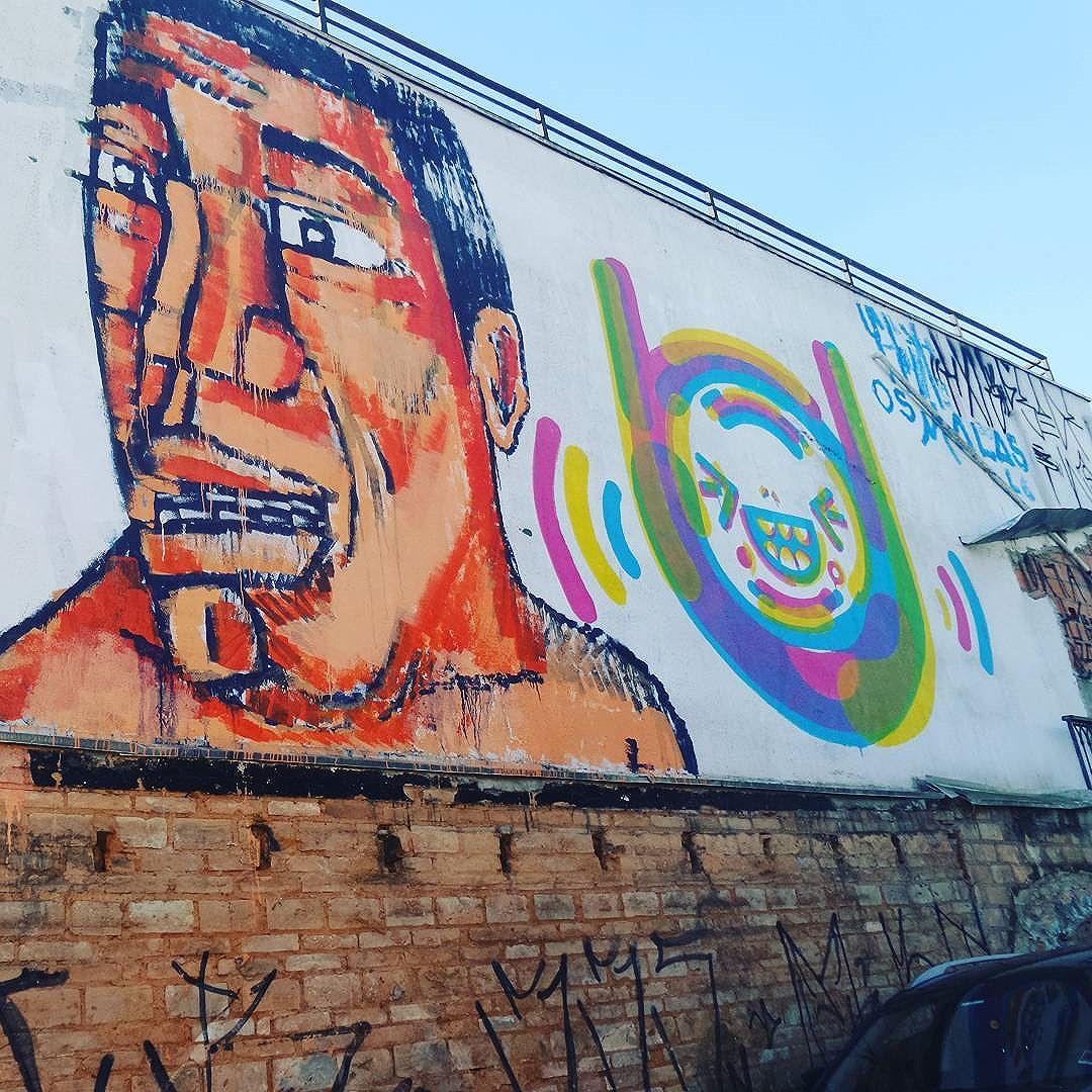 #graffitisaopaulo #arteurbanasp #vilamadalena #streetartsp #graffitisp #sampagraffiti #graffitipainting #streetartglobal #aerosolart #sprayart #spraywall #graffiti_of_our_world #urbanart #streetart #streetphotography #streetphotographers #ofantasticomundodografite #wallporn #be_one_urbanart