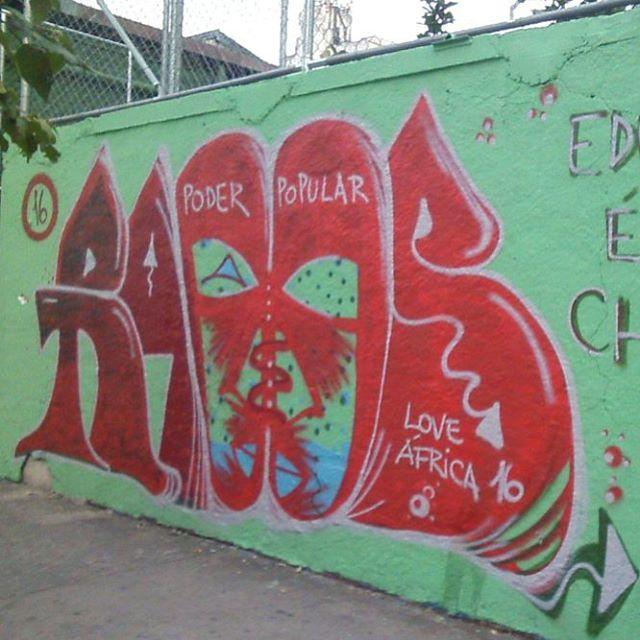 Grapixobombstyle #raoos #graffiti #streetartsp #artederua #urbanart #trowup #arte #spgraffiti  #streetpainting #arteurbana #redletters #redcolor #sprayart #belavista #bixiga