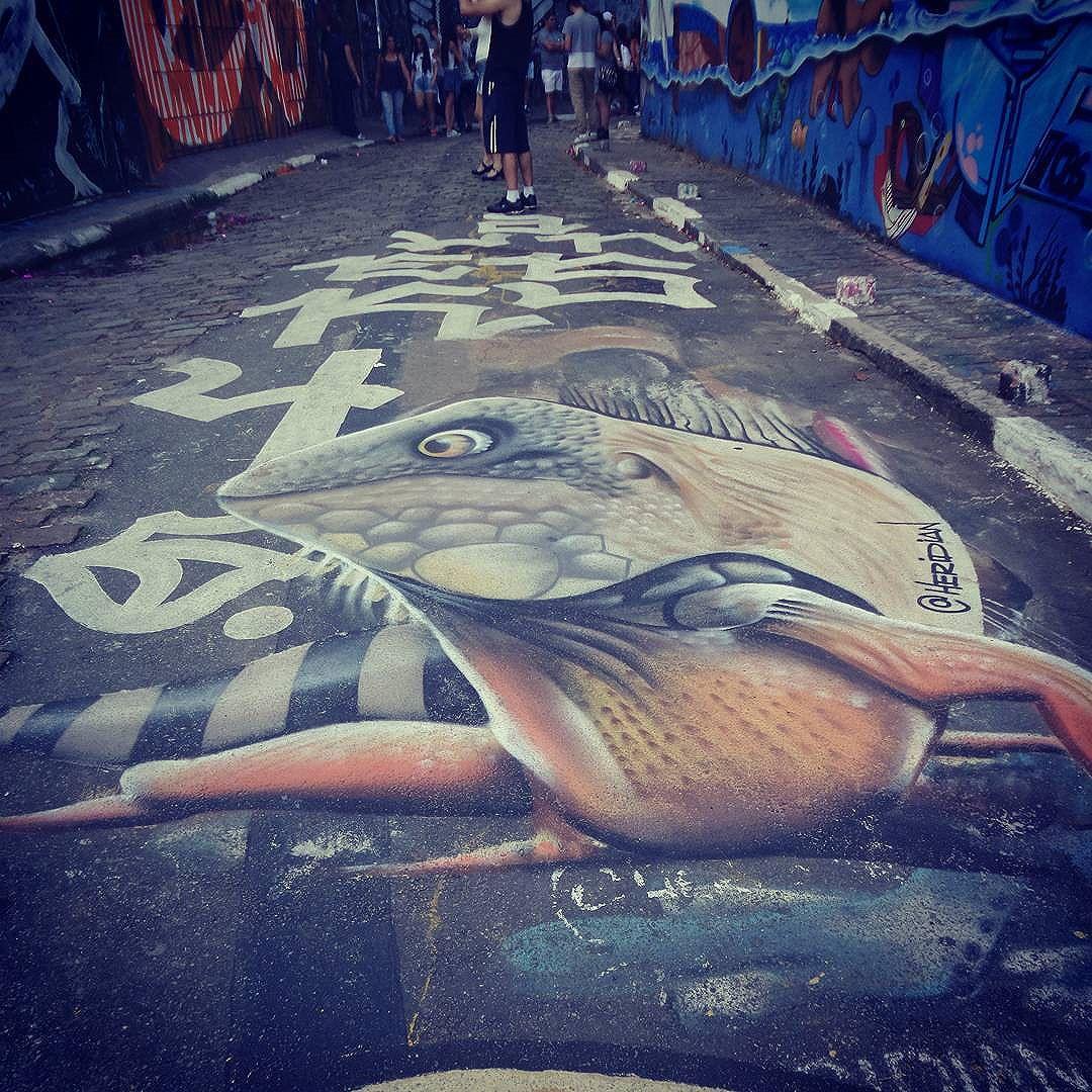 #heridian #streetartsp #graffitisp #sampagraffiti #streetartist #streetstyle #streetphotography #streetphotographers #ofantasticomundodografite #streetarteverywhere #streetartglobal #aerosolart #sprayart #floorart #saopaulo #vilamadalena #sampa #graffiti #graffitiart #be_one_urbanart #street_art #becodobatman #be_one_urbanart #graffiti_of_our_world