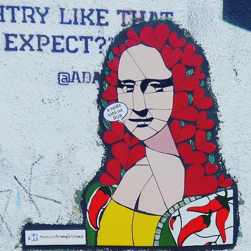 #monalisa #pimenta #pepper #mosaico #mosaicoartistico #mosaic #streetphotography #streetphotographers #ofantasticomundodografite #urbano #intervencaourbana #mosaicoimagem #streetart #streetartsp