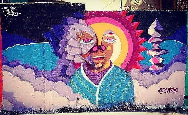#mural feito no evento em #diadema pelo @materiarima @cheiratintacrew grato pelo convite #graffiti #streetartsp #sprayart #urbanartsp #elgraffiti #paredeviva #Negguz #rockbalancing #ônix #ametista #artwork #2016 #jahbless