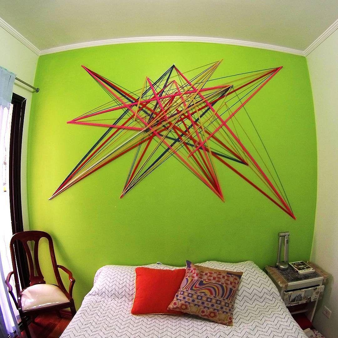 Nós somos do tecido de que são feitos os sonhos. @thabzconcilio 10•08•2016  #teiaurbana #teia #streetart #stringart #intervention #intervencaourbana #streetartnews #streetartglobe #intervencao #graffiti #urban #abstract #abstrato #linhas #barbante #colorido #color #arteurbana #artederua #instaartexplorer #art #arte #streetartsp #street #designer #design #arq #arquitetura #saopaulo #brasil