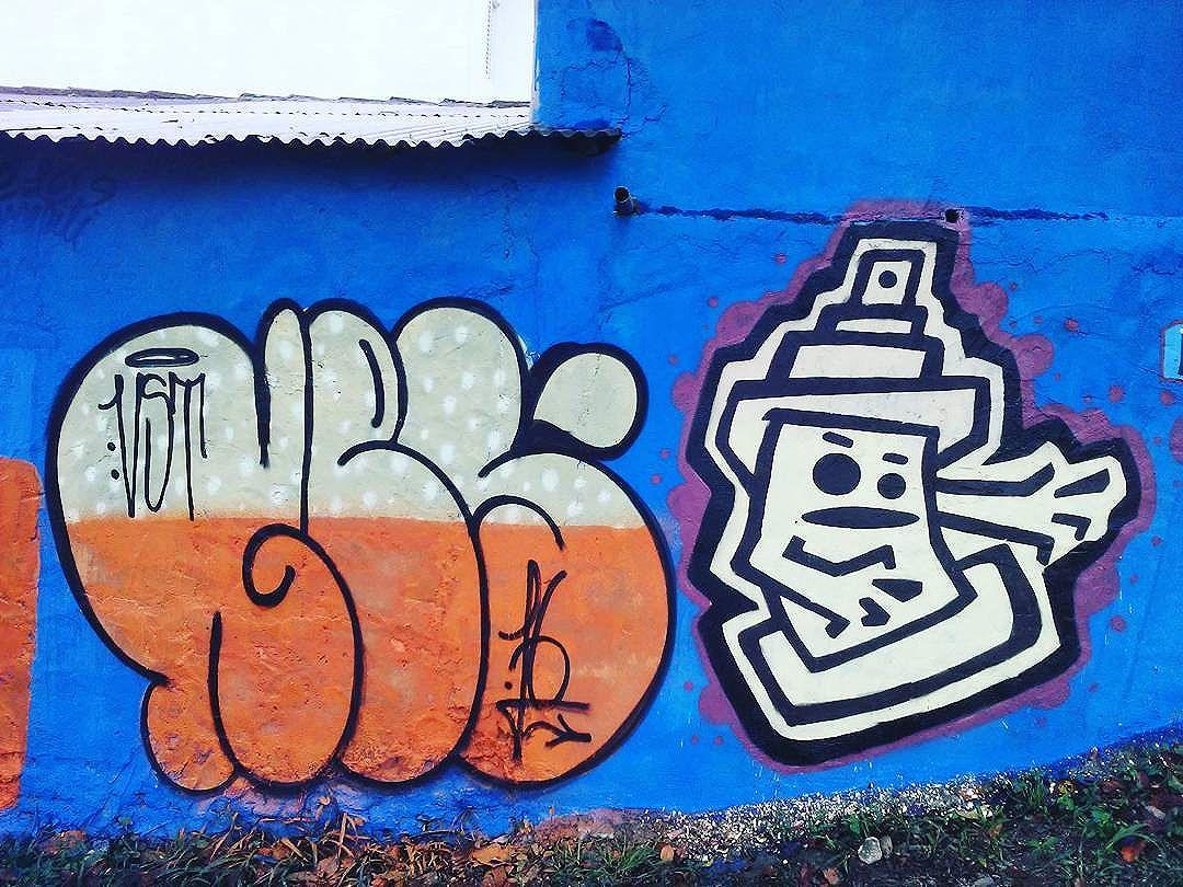 St. André - São Paulo - Brazil (NES - RERIBS)  Evento 2° El Graffiti - Jd. Guarará - St. André (09/2016)  #streetart #urbanart #mundoruasp #streetartphotography #contemporanyart #elgraffiti #instagraffiti #graffitiart #olheosmuros #streetartsp #wallporn #artenasruas #abc #mural #arteurbano #colors #tinta #letters #characters