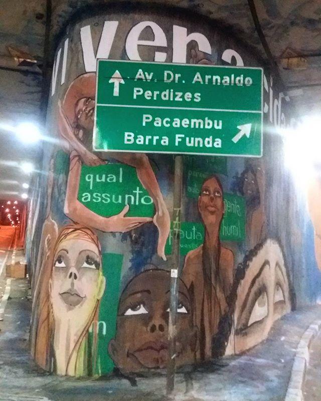 #veracidade #graffitinoiteilustrada #graffiti #gente #streetartsp #viveracidade #qualassunto