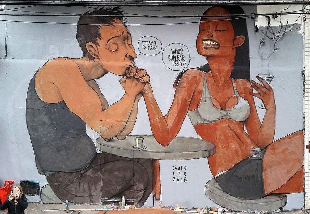@paulo_ito in Sao Paulo for #GraffitinoBexiga. #pauloito #BairroDoBexiga #saopaulograffiti #graffitisp #graffitisaopaulo #streetartsp #streetartbrazil #streetartbrasil #streetartbr #brazilstreetart #graffitibrasil #brasilgraffiti #brazilgraffiti #igersbrazil #ig_brazil #graffitibrazil #streetart #urbanart #graffiti #wallart #graffitiart #wallpainting #muralpainting #artederua #arteurbana #muralart #streetart_daily #streetarteverywhere