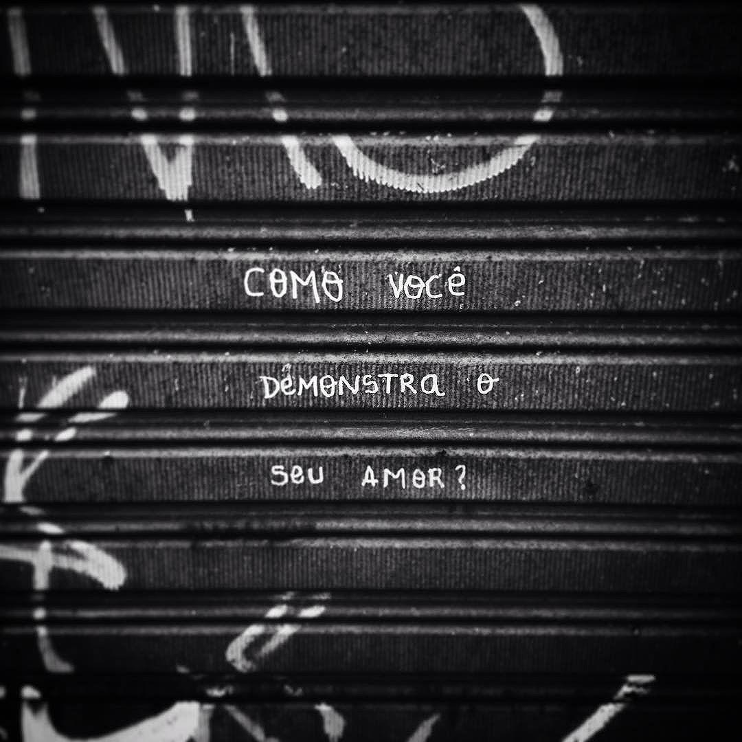 COMO? - São Paulo - SP - De @misguededghost
