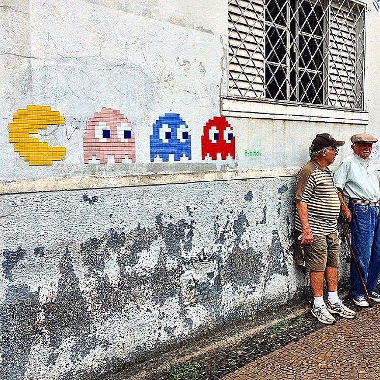 Feliz dia das crianças!  @viberzone #streetart #streetartsp #campinas #pixelart #arteurbana #diadascrianças #citybar