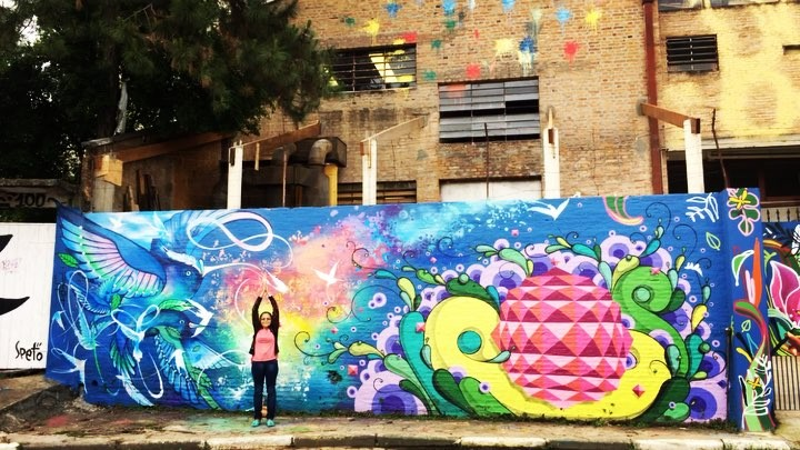 Found a ballerine in street art ! #lovemymom #streetartsp #becodobatmansp #sp #traveltheworld #worldtravelpics #lovebrasil #lovesp