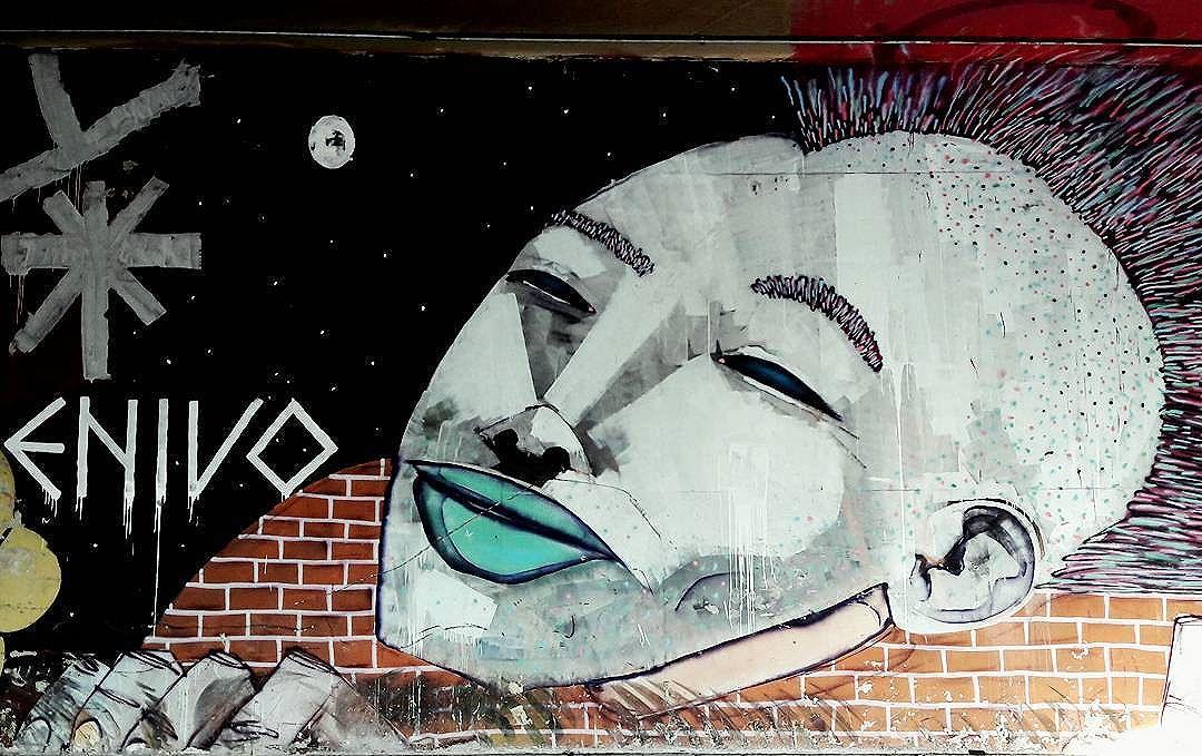 Nice wall art of ENIVO (@enivo) in the tunel of Paulista Avenue in São Paulo  #enivo #a7ma #retrato #sambadograffiti #be_one_urbanart #graffiti #graffiti_clicks #grafite #graf #streetart #streetartsp #streetphoto #streetarteverywhere #streetartphotography #spraypaint #urbanwall #urbanart #wallart #saopaulo #brasil #rsa_graffiti #braznu #sampa #tv_streetart #saopaulocity #tv_sa_simplicity_graff #streetartofficial #be_one_urbanart #brarts