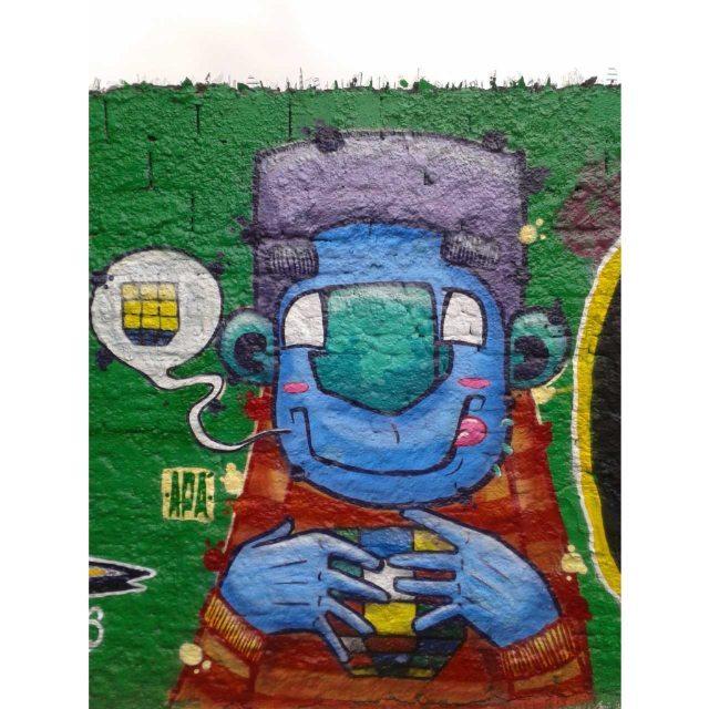 Sabadão com os manos @brunoonb @mar1986_ @coalizando #graffiti #graff #graffart #art #arte #arts #artist #colors #color #cor #cores #apa #apaone #brazilianart #brazilianstyle #brazilianartist #streetartsp #streetart #urbanstyle #urbanart #urbanartist #maiscorporfavor #character #cartoons