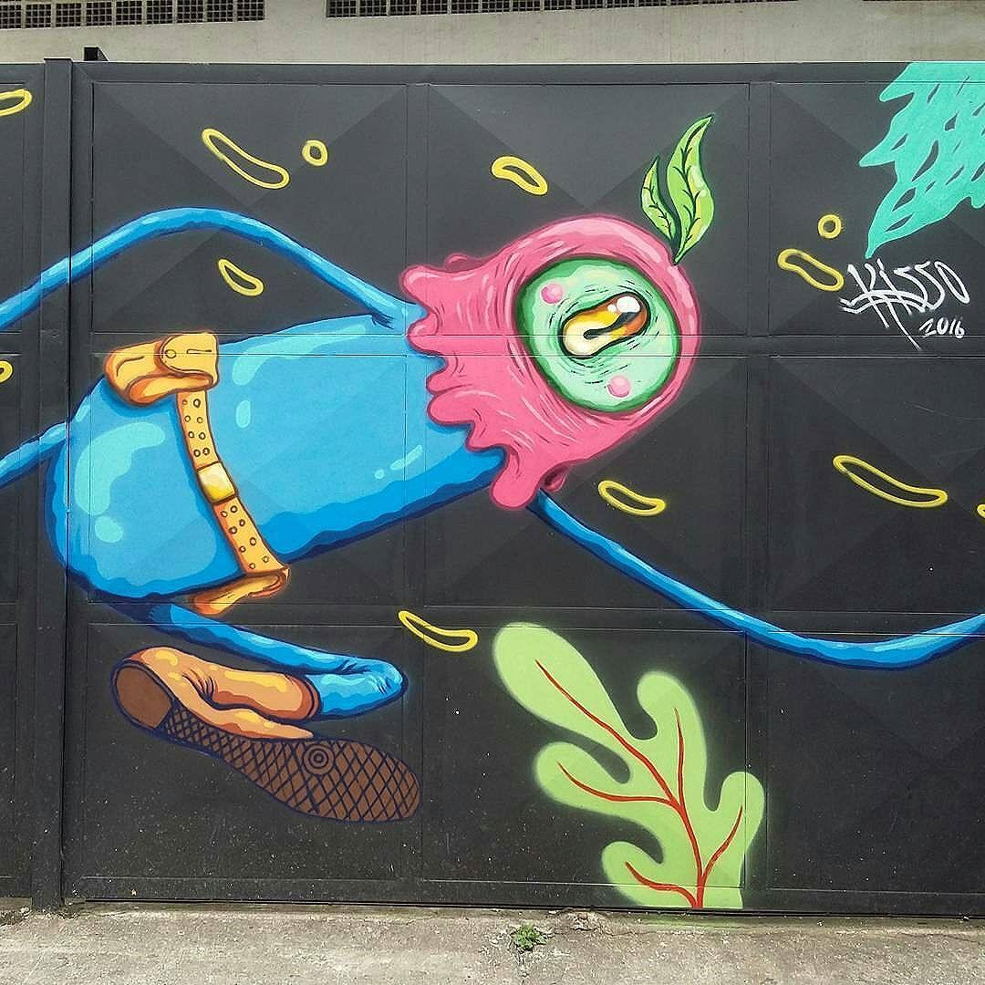 repost de @mondokisso - #graffitiart #graffitis #graffitiwall #graffiti #graphicdesign #grafitesp #grafite #graffitiartist #graffitiigers #graffiti_magazine #instagrafite #globalstreetart #streetartist #streetart #urbanart #urbanartist #wall #kisso #art #painting #graffitiporn #murals #arteurbana #arterua #mtn #elgraffiti #streetartsp #pixo #sampagraffiti #spray
