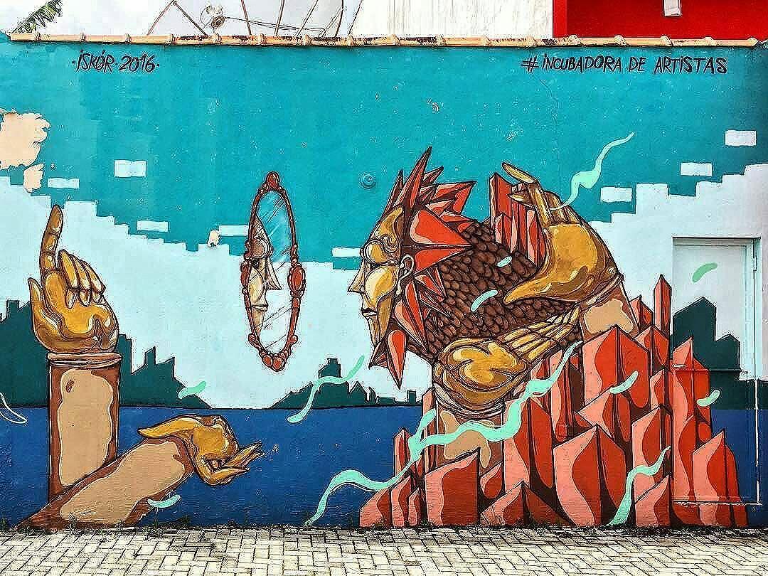 The best streetart of the day: @felipe.iskor in Atibaia, SP, Brasil for #ocupaatibaia @incubadoraart. Photo by @afreller via @sampagraffiti. #felipeiskor #iskor #becodaincubadora #atibaia #saopaulograffiti #graffitisp #graffitisaopaulo #streetartsp #streetartbrazil #streetartbrasil #streetartbr #brazilstreetart #graffitibrasil #brasilgraffiti #brazilgraffiti #graffitibrazil #beststreetartoftheday #topstreetart #topgraffiti #streetart #urbanart #graffiti #wallart #graffitiart #artederua #arteurbana #muralart #streetart_daily #streetarteverywhere