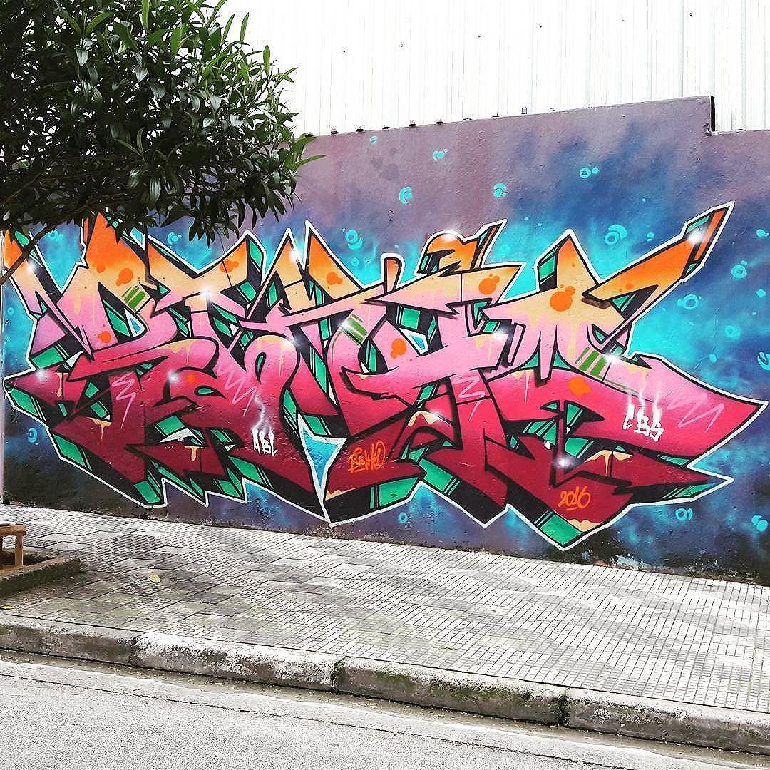 Colorful lettering art by BINHO (@binho3m) in Consolação (São Paulo, Brasil) #binho #lettering #letras #sambadograffiti #be_one_urbanart #graffiti #graffiti_clicks #grafite #graf #streetart #streetartsp #streetphoto #streetarteverywhere #streetartphotography #spraypaint #urbanwall #urbanart #wallart #saopaulo #brasil #rsa_graffiti #tv_streetart #saopaulocity #tv_sa_simplicity_graff #streetartofficial #artonwalls #brarts #taglifegraffiti