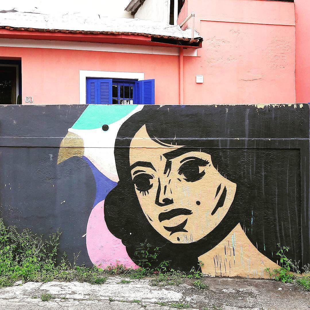 Nice wall art by SPETO (@speto) and BRIXX FURTADO (@brixxfurtado) found in Vila Madalena (São Paulo, Brasil) #speto #brixx #popart #sambadograffiti #be_one_urbanart #graffiti #graffiti_clicks #grafite #graf #streetart #streetartsp #streetphoto #streetarteverywhere #streetartphotography #spraypaint #urbanwall #urbanart #wallart #saopaulo #brasil #rsa_graffiti #tv_streetart #saopaulocity #tv_sa_simplicity_graff #streetartofficial #artonwalls #brarts #taglifegraffiti