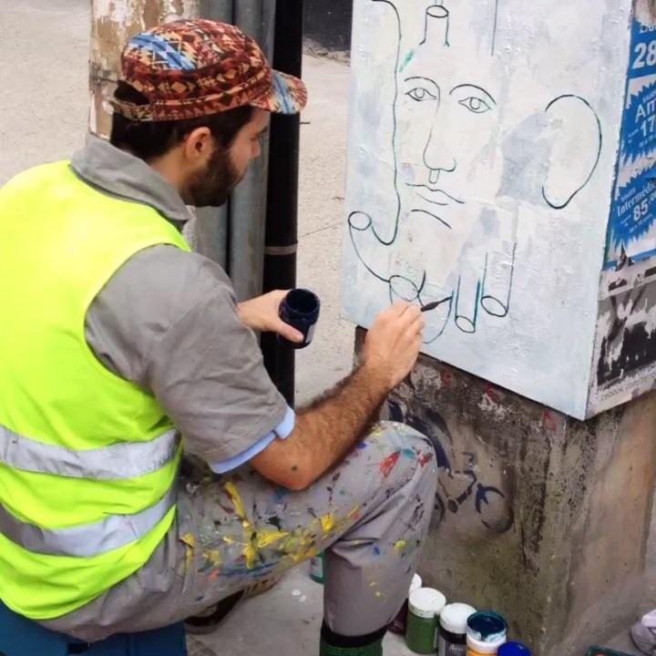WIP @decotreco #treco #tv_streetart #streetartsp #sampa #saopaulo #paint #graffiti #artederua #sampagraffiti #wallart #urban #pinheiros #art #painting #graffitivideo