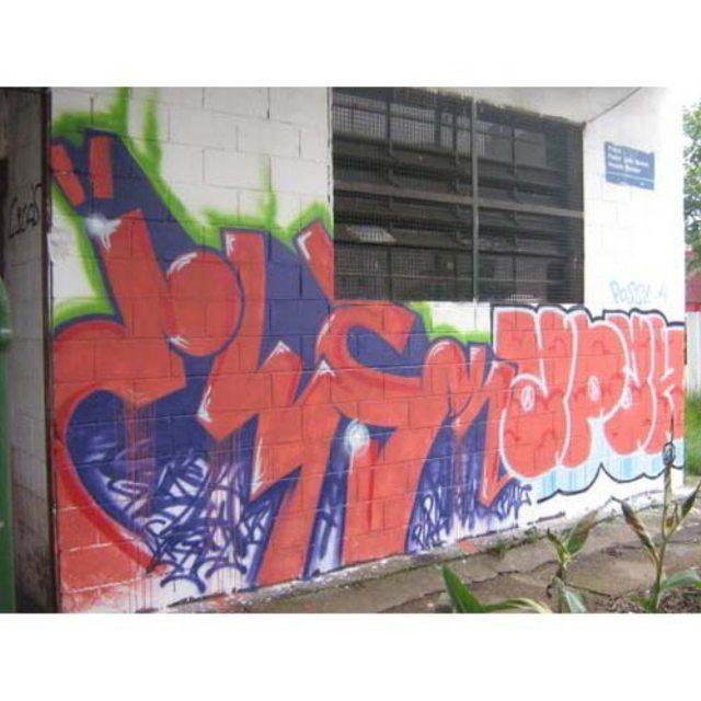 2008 com meu mano @j__h__s  #graffiti #graff #graffart #art #arte #arts #artist #colors #color #cor #cores #apa #apaone #brazilianart #brazilianstyle #brazilianartist #streetartsp #streetart #urbanstyle #urbanart #urbanartist #maiscorporfavor #character #cartoons #letter