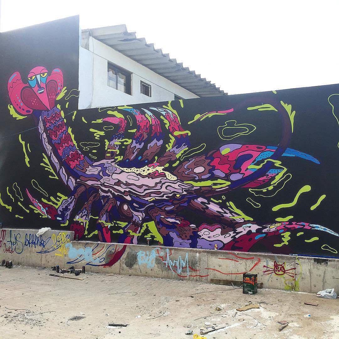 @sator_art in Guarujá, Brasil for @downtown.inc #DowntownInc. #sator_art #sator #Guarujá #saopaulograffiti #graffitisp #graffitisaopaulo #streetartsp #streetartbrazil #streetartbrasil #streetartbr #brazilstreetart #graffitibrasil #brasilgraffiti #brazilgraffiti #igersbrazil #graffitibrazil #streetart #urbanart #graffiti #wallart #graffitiart #wallpainting #muralpainting #artederua #arteurbana #muralart #streetart_daily #streetarteverywhere