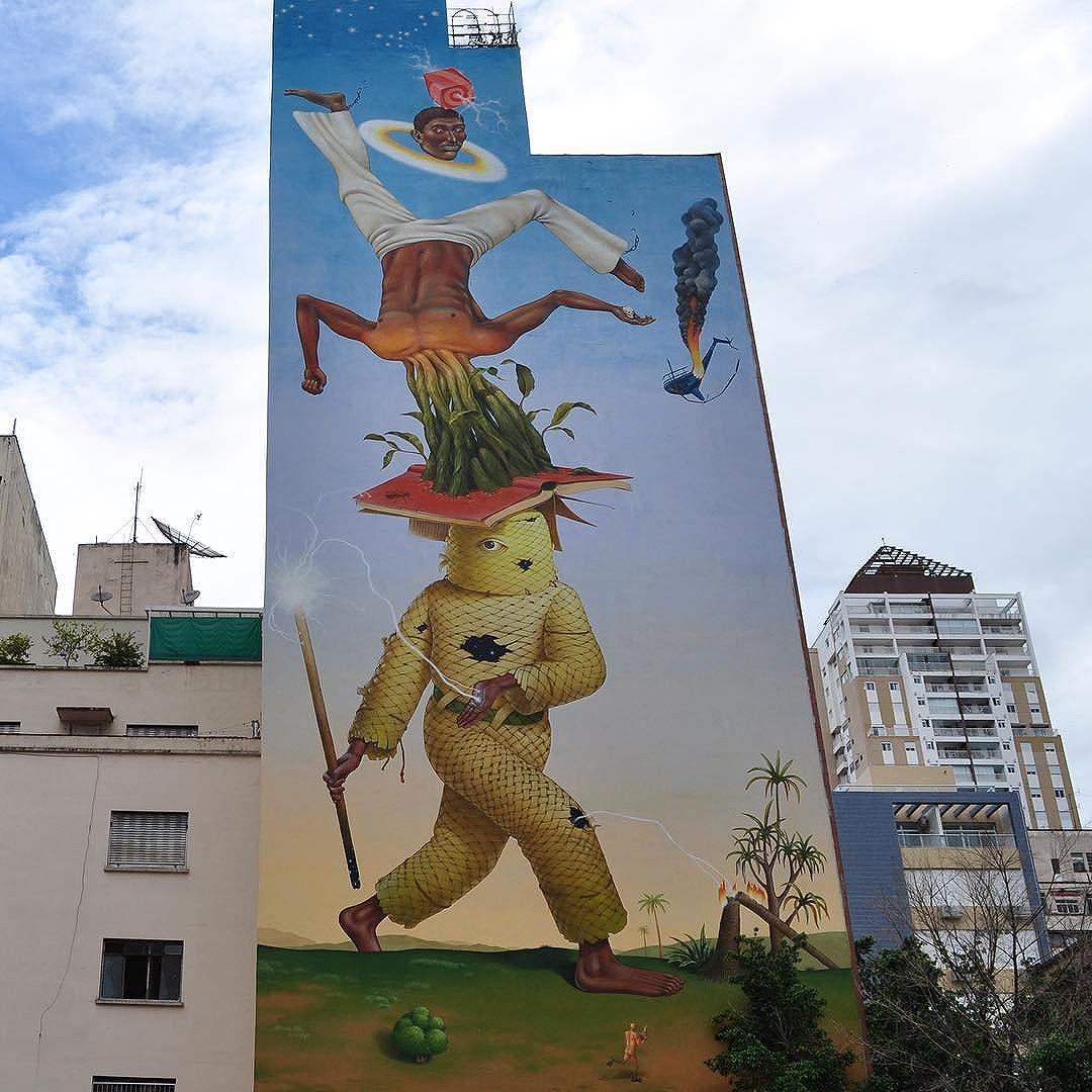 Capoeira Fighter  Collab mural by @aec_interesnikazki and @waone_interesnikazki  City: São Paulo - since November 2015 #aecinteresnikazki #waoneinteresnikazki #saopaulo #sampagraffiti #streetartsp #spstreetart #graffitisp #spgraffiti #ukraineart #streetartphotographer #streetartphotography #streetartphoto #streetarteverywhere #instagrafite #instagraffiti #graffiti #graffiticulture #graffitilovers #graffitiwall #mural #murales #urbanart #arteurbana #saopaulo #sp #sampa #saopaulocity #photoangelponce #rsa_graffiti