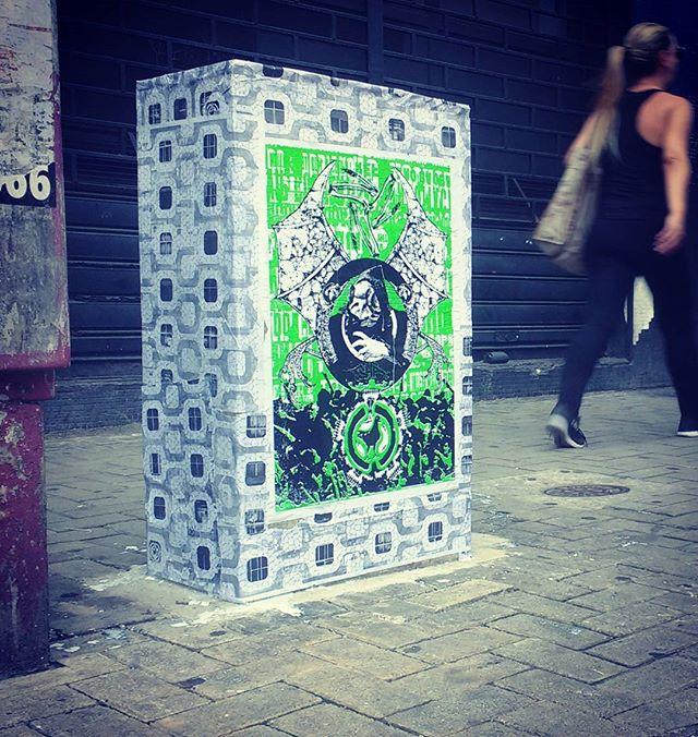 Mini #projetochã #lambelambe #streetartsp