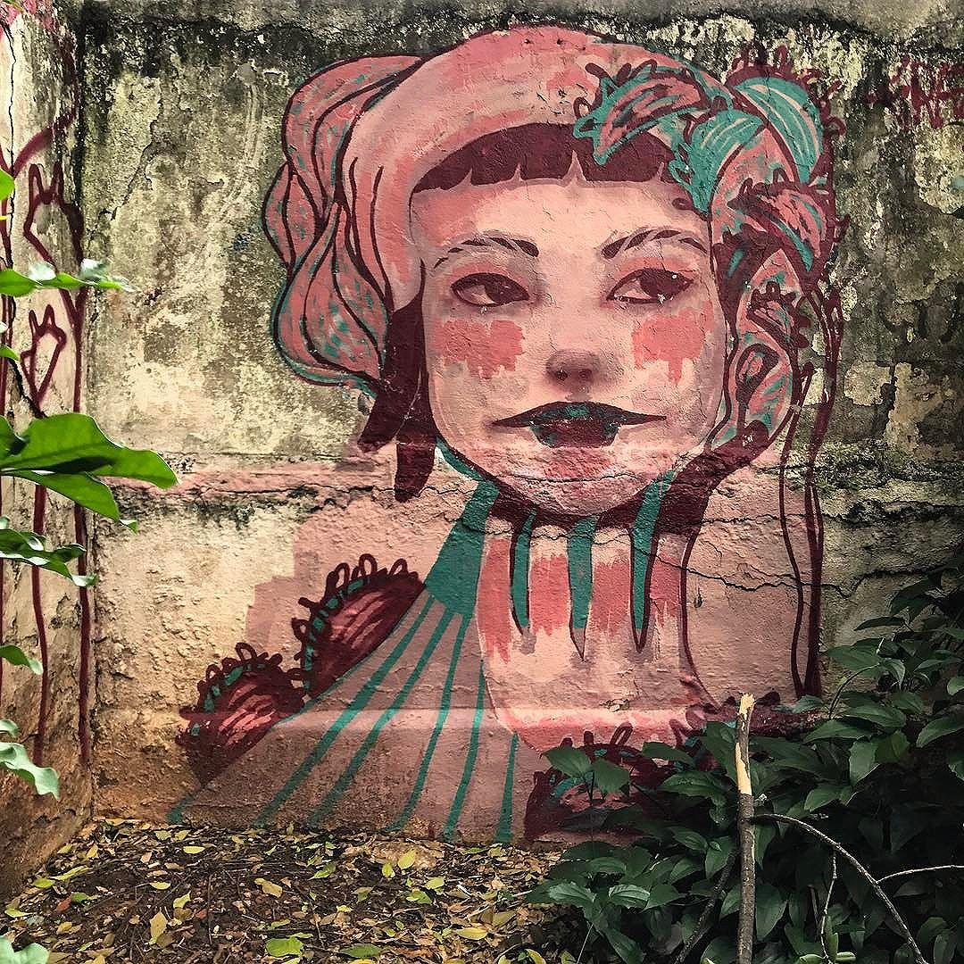 São Paulo / muros 8127 Work by Grazie @grazie_