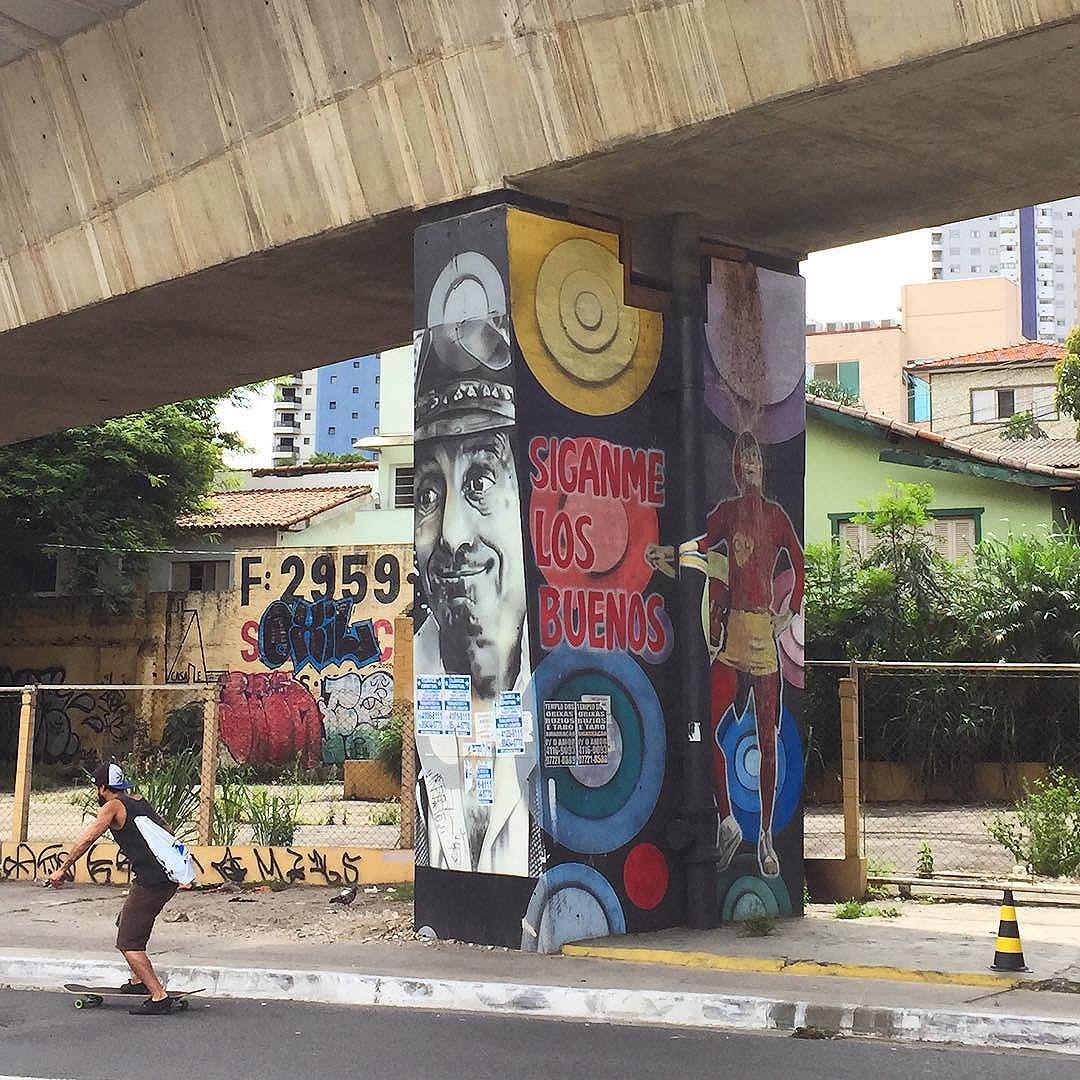 #sp #sampa #saopaulo #saopaulosao #saopaulocity #olharesdesampa #esquinasp #sp4you #splovers #euvejosp #nasruasdesaopaulo #nasruasdesp #ilovesaopaulo #brazil #art #urbanart #urbanwalls #streetphotography #streetarteverywhere #streetart #streetartsp #graffiti #graffitisp #graffitiwall #graffitiigers #graffitilife #graffitilove #graffitistyle #wanderlust