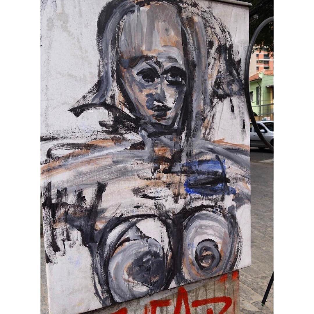 Street Art em Sampa SãoPaulo_SP_Brasil_Data:20141018 Câmera: #SONY_RX100M2 Photo: J Goncalves #sony  #brasil #br55 #brazil_repost #catracasp #cidadedagaroa #cliquedodiasp #euamosp #ig_saopaulo #instagrambrasil #tsplovers #sousampa #sp4you #saopaulonline #saopaulowalk #saopaulo_originals #spinfoco #saopaulocity #saopaulocity #tvminuto #TopSampaPhotos #vejasp #vcnouol #vilamadalena