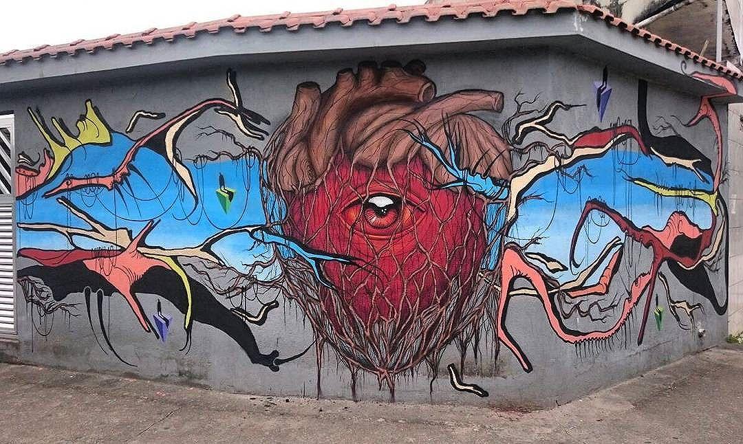 @bugresp +@sapiens_questione in Sao Paulo, Brasil. #bugresp #bugre #originalbugre #questione #saopaulograffiti #graffitisp #graffitisaopaulo #streetartsp #streetartbrazil #streetartbrasil #streetartbr #brazilstreetart #graffitibrasil #brasilgraffiti #brazilgraffiti #igersbrazil #ig_brazil #graffitibrazil #streetart #urbanart #graffiti #wallart #graffitiart #wallpainting #muralpainting #artederua #arteurbana #muralart #streetart_daily #streetarteverywhere