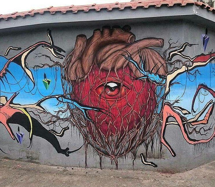Art @Regrann from @tschelovek_graffiti - @bugresp +@sapiens_questione in Sao Paulo, Brasil. #bugresp #bugre #originalbugre #questione #saopaulograffiti #graffitisp #graffitisaopaulo #streetartsp #streetartbrazil #streetartbrasil #streetartbr #brazilstreetart #graffitibrasil #brasilgraffiti #brazilgraffiti #igersbrazil #ig_brazil #graffitibrazil #streetart #urbanart #graffiti #wallart #graffitiart #wallpainting #muralpainting #artederua #arteurbana #muralart #streetart_daily #streetarteverywhere